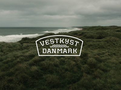 West Coast Denmark Logo identitydesign identity design logo designer logotype designer lockup font design branding visual identity logotype design logotypedesign logotypes logo design logodesign logotype typeface design typeface typedesign logo typography