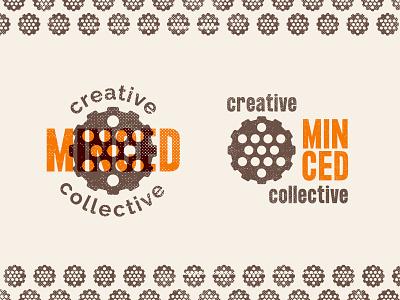 Minced Lock-up brand graphic design minced badge badgedesign logodesign branding logo vector illustration