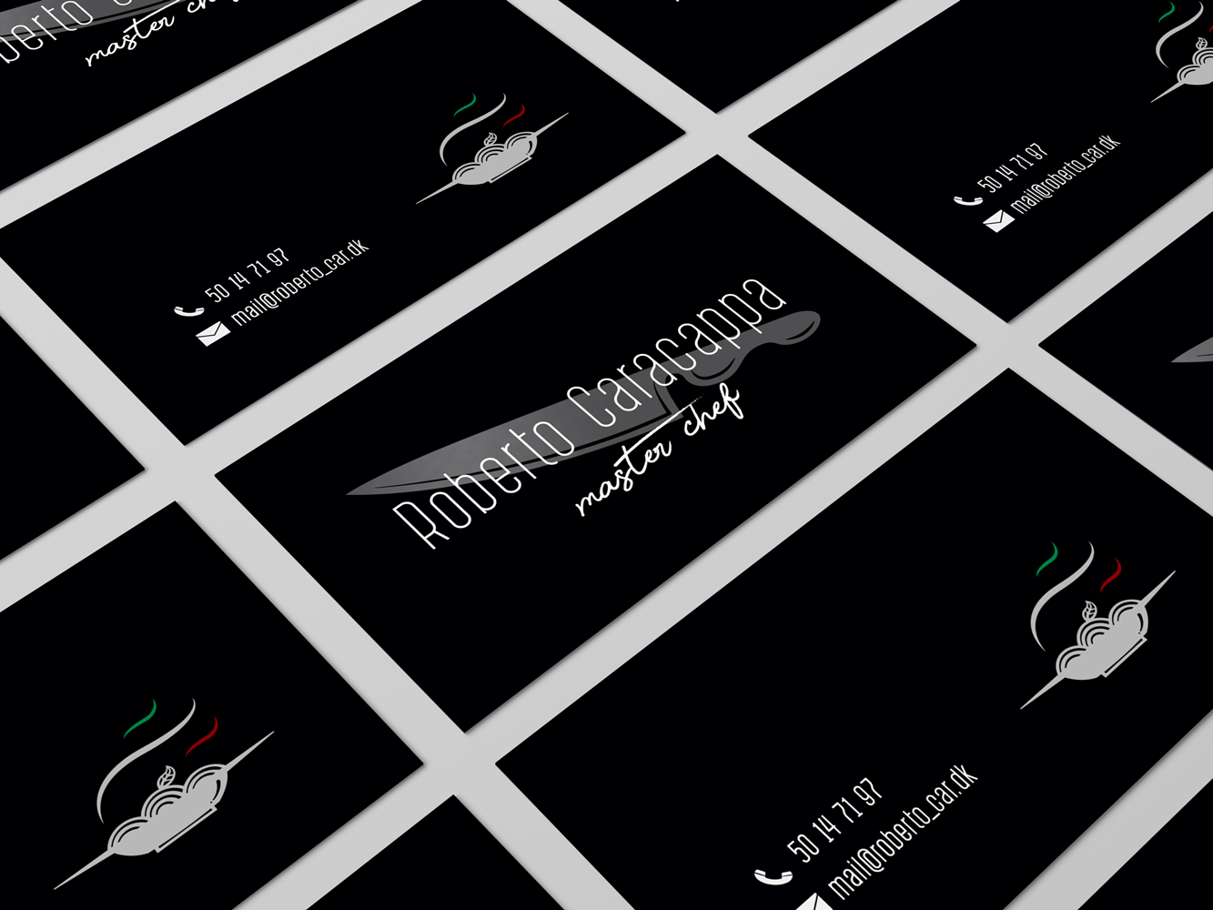 Kitchen Chef Business Card By Blagoy Nikolaev On Dribbble