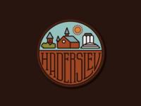 Haderslev sticker