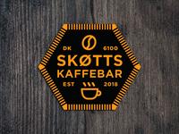 Skøtts Kaffebar sticker