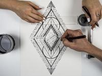 Ace of diamond - Process
