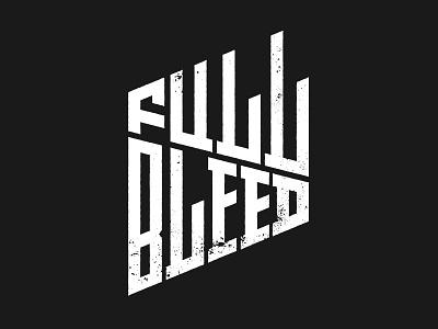 Full Bleed Identity logo identity