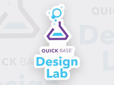 Quick Base Stickers purple logo tradeshow sticker mule stickers