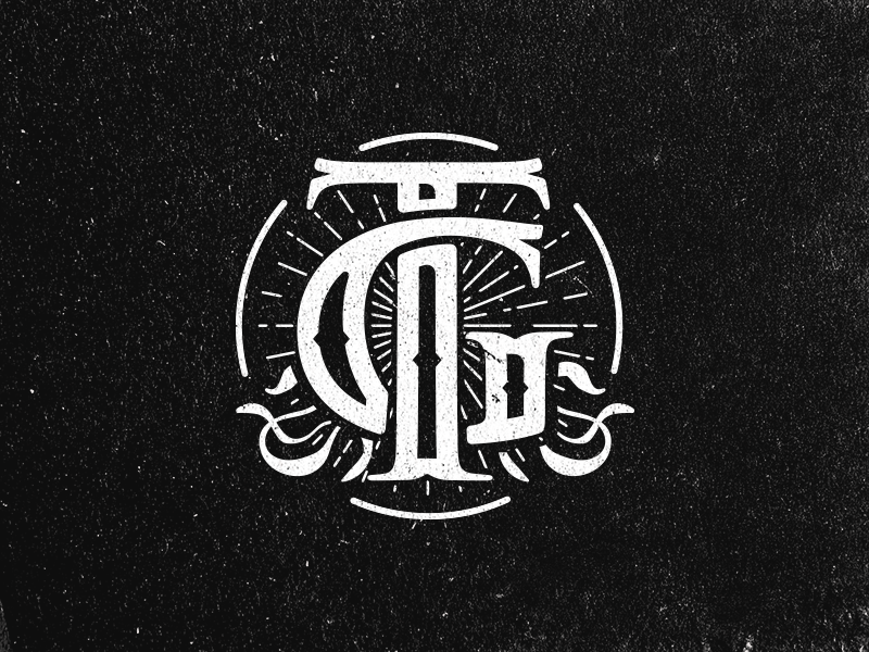 Tg Monogram By Vova Egoshin On Dribbble