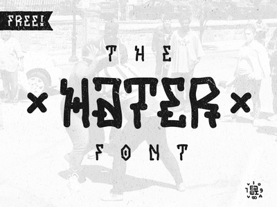 HATER Free font letters customtype lettering free font typography type graffitti hater