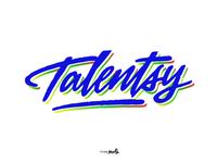 «Talentsy» logo sketch