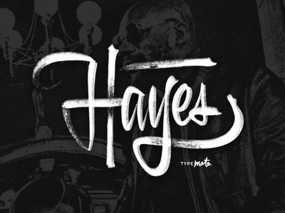 Isaac Hayes musician isaac hayes sketch logotype logo type custom type typography calligraphy lettering typemate