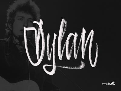 Bob Dylan logotype logo type custom type dylan ipad lettering typography calligraphy lettering typemate