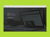 [WIP] Website Design