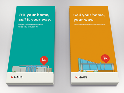 Home for sale home house icon flyer concept print vector flat simple illustration