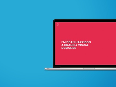 Portfolio update homepage clean modern redesign color digital ui website portfolio