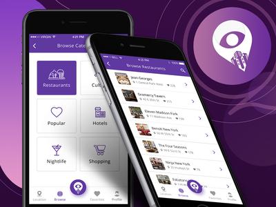 E-Commerce App Design (CityEye)