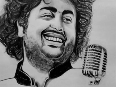 Pencil Sketch (Arijit Singh)