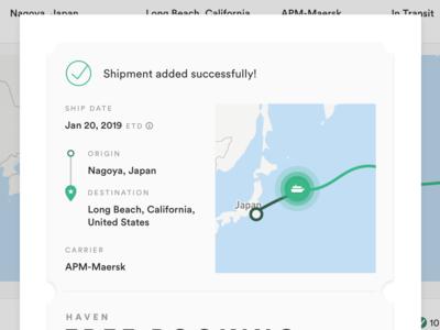 Shipment Confirmation - Haven