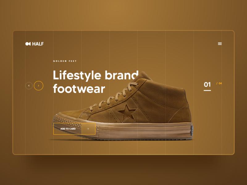 Golden Converse Shoe add to cart hamburger arrow slider onlineshop online shop add to card men wear shoe all star