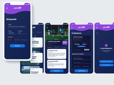 Mobile App - CanchaLibre