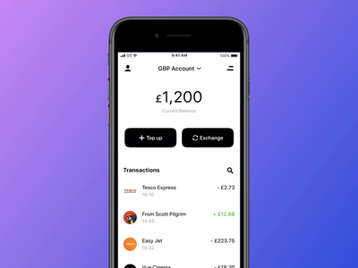 Multi-Currency Accounts currencies money transfer bank app banking money currency currency exchange