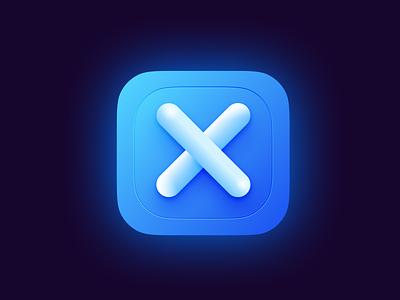 App Icon Concept For Big Sur logo figma glow 3d macos app big sur neumorphism skeumorphism icon