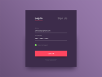 Daily UI #082 - Form