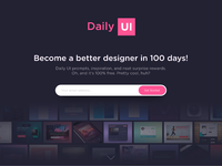 Redesign daily ui full