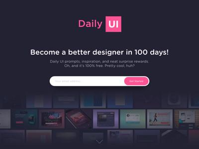 Daily UI #100 - Redesign Daily Ui