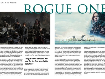 Rogue One Double Page Spread