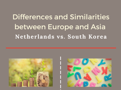 Europe and Asia: Differences and Similarities gambling south korea netherlands europe asia life infographic