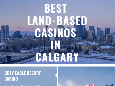 Top Recommended Land-Based Casinos In Calgary travel calgary canada casino gambling infographic