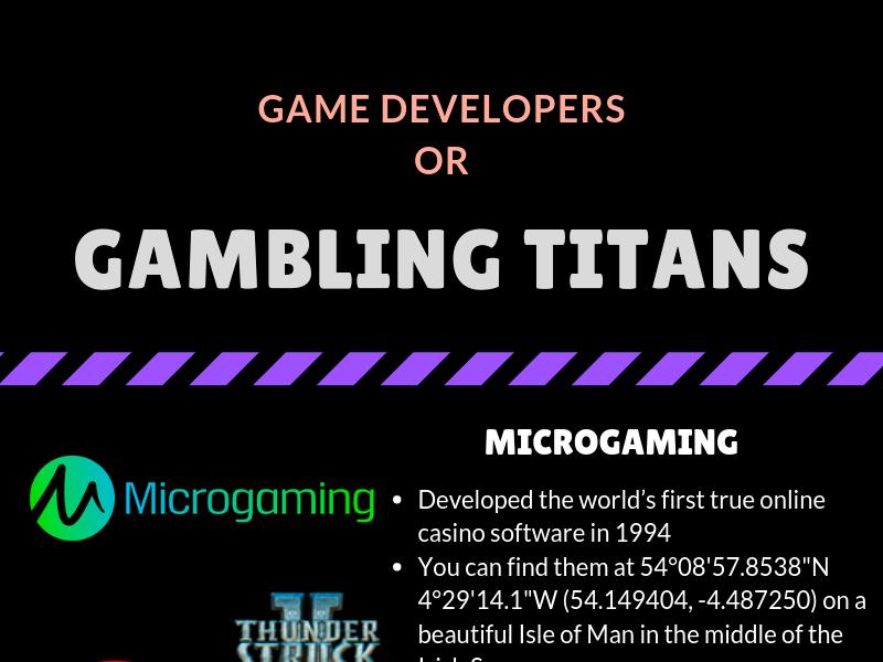 Game Developers or Gambling Titans