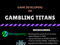 Game Developers or Gambling Titans