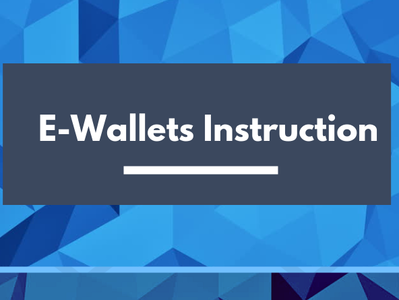 Way To The Future Through E-Wallets gambling e-wallet infographics