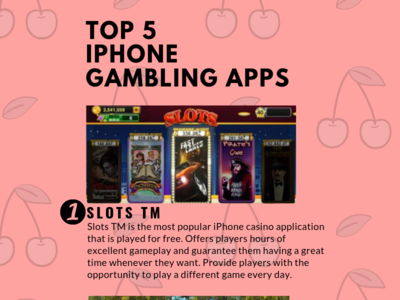 Top 5 Iphone Gambling Apps canada iphone gambling infographic