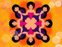 Kaleidoscopic femme