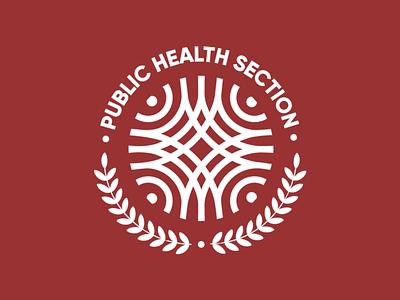 Logo Design for Pubic Health Section of a University health public healthcare energy mood icon colours typography vector design branding logo