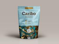 Caribo Coffee Packaging