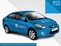 Corporate Car Free PSD MockUp