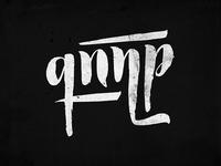 Typography logo for Armenian folk band