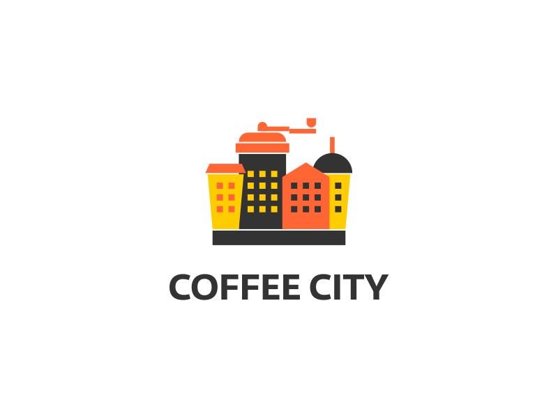 Coffee City Logo By Eduard Kankanyan Design Inspiration