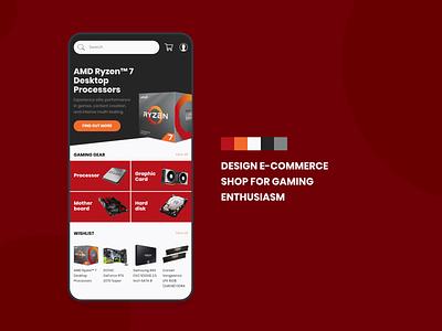 E-commerce for Gaming e-commerce app shop gaming