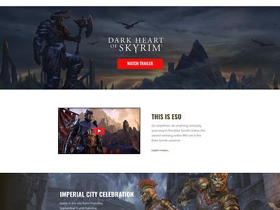 Elder scrolls online - white version eso game
