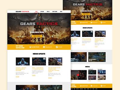 Gears Tactics - White Version gearstactics gearstactics lighttheme redesign affinitydesigner