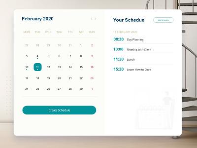 Interactive wall calendar schedule tablet ipad wall interaction calendar