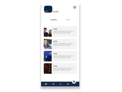 Stock market news app stock market stock illustration tunisia mobile app app design mobile design ui ux design