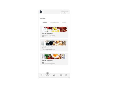 Food mobile app illustration mobile design food app food designer ux ui design