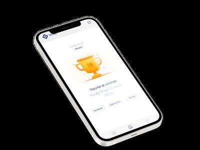 Trivia app iOS trivia quiz mobile app app design mobile design ux design ui