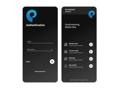 Finance  & Leasing app finance app finance leasing mobile app app design mobile design design ux ui