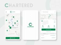 Chartered Bikes bikerentals smartbikes userexperience design app mobile ux ui