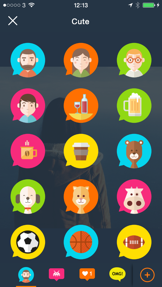 Giddyfingers cute icon pack