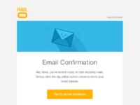 Hailo confirm email big